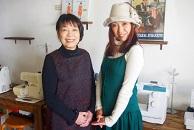 講師の中嶌有希さん(右)と中嶌君子さん(左)