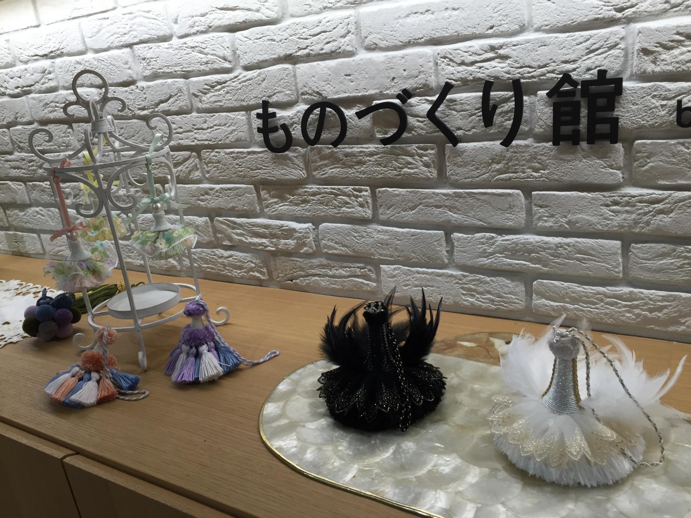 嶋貫さんの作品も展示